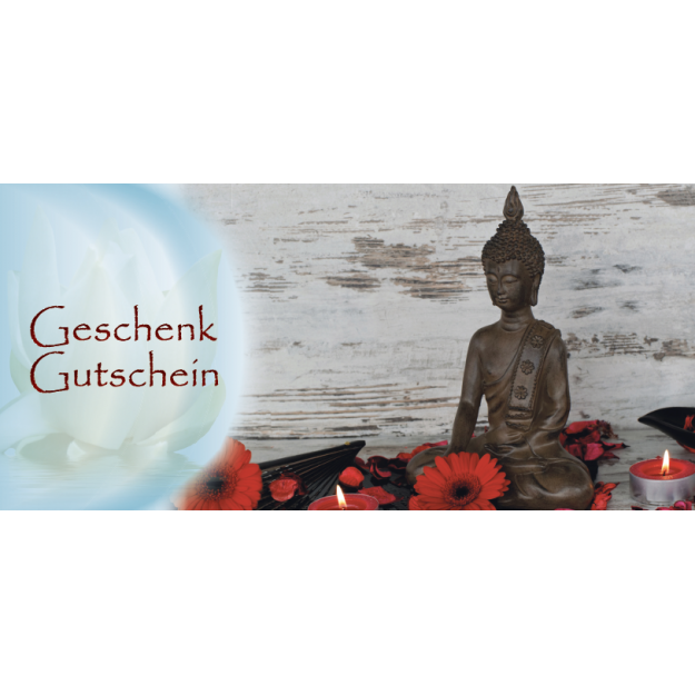 Gutschein Massage & Wellness - Thai Massage Buddha