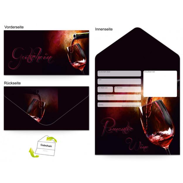 Gutschein Gastronomie - Rotwein