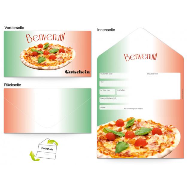 Gutschein Gastronomie - Pizzabäcker