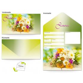 Gutschein Floristik - Bunter Blumenstrauß