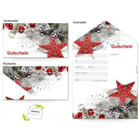Gutschein Feiertage - Weihnachten Sterne