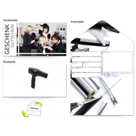 Gutschein Kosmetik - Friseur Like a Star