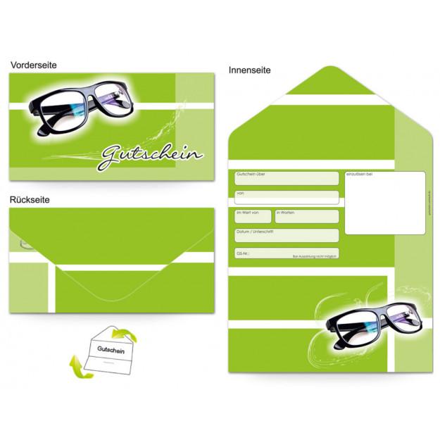 Gutschein Gesundheit - Optiker Brille Frische