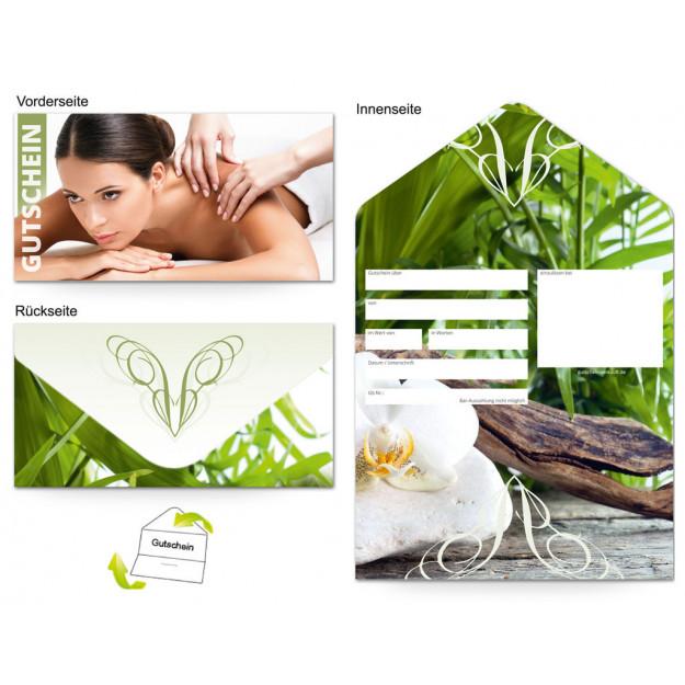 Gutschein Massage Wellness Entspannung