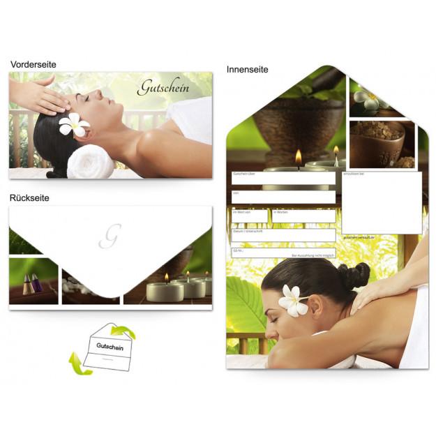 Gutschein Massage & Wellness - Wohlfühlen Frau