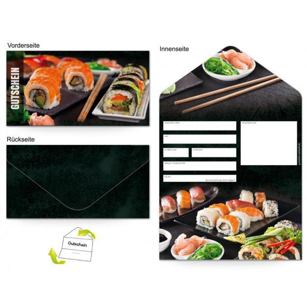 Gutschein Gastronomie - Sushi