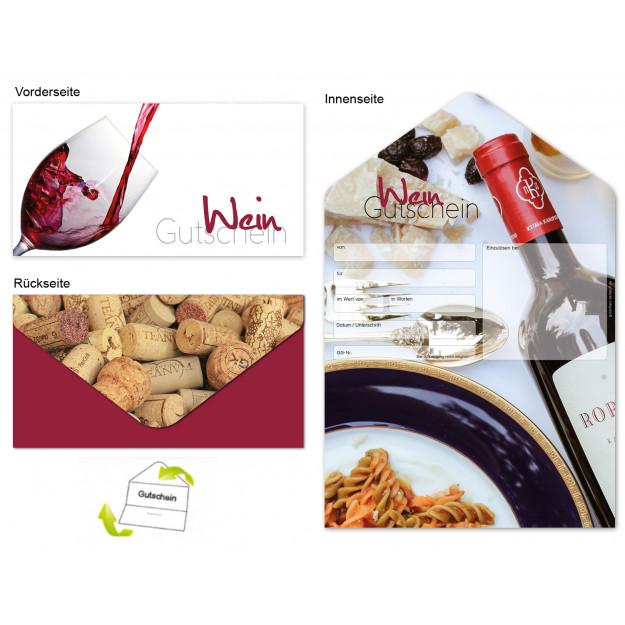 Gutschein Gastronomie - Wein