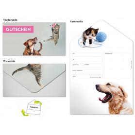 Gutschein Verschiedenes - Hund & Katze