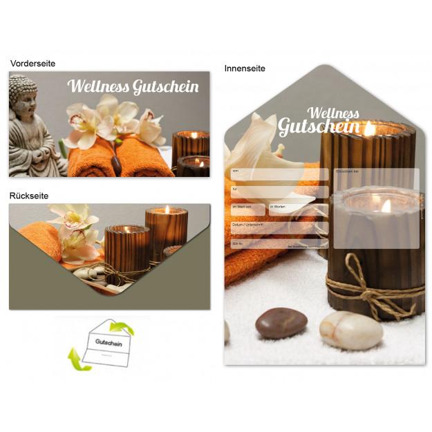 Gutschein Massage & Wellness - Auszeit