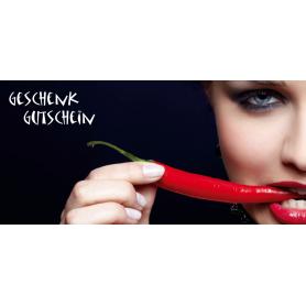 Gutschein Gastronomie - Chilli scharf