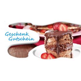 Gutschein Gastronomie - Süße Stückchen
