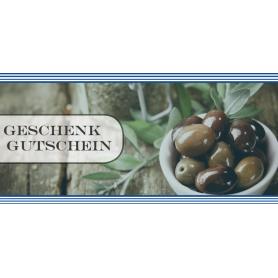Gutschein Gastronomie - Griechische Oliven