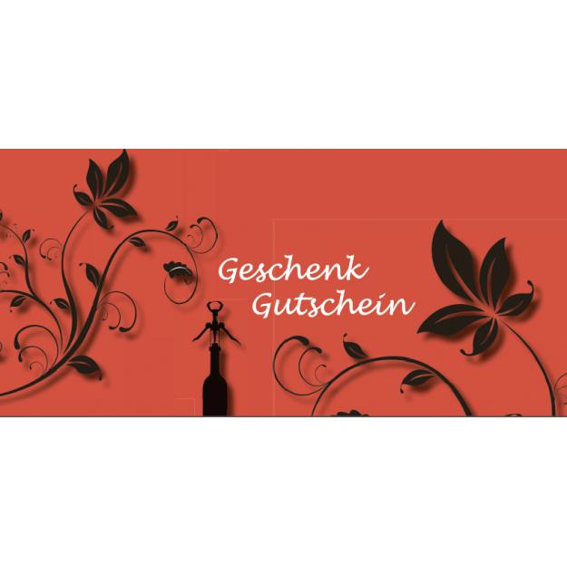 Gutschein Gastronomie - Blumenzierde