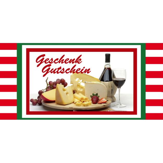Gutschein Gastronomie - Pasta und Wein