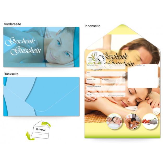 Gutschein Massage & Wellness - Paar entspannt
