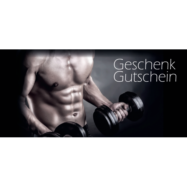 Gutschein Gesundheit - Fitness Muskeln