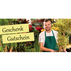 Gutschein Floristik - Gärtnerei Das Setzen