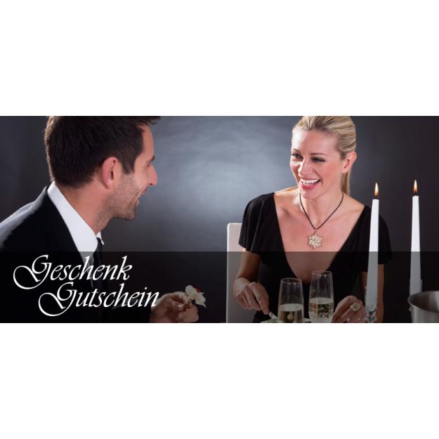 Gutschein Romantik und Liebe - Candle Light Dinner