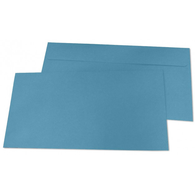 Briefumschläge, DIN-lang - himmelblau