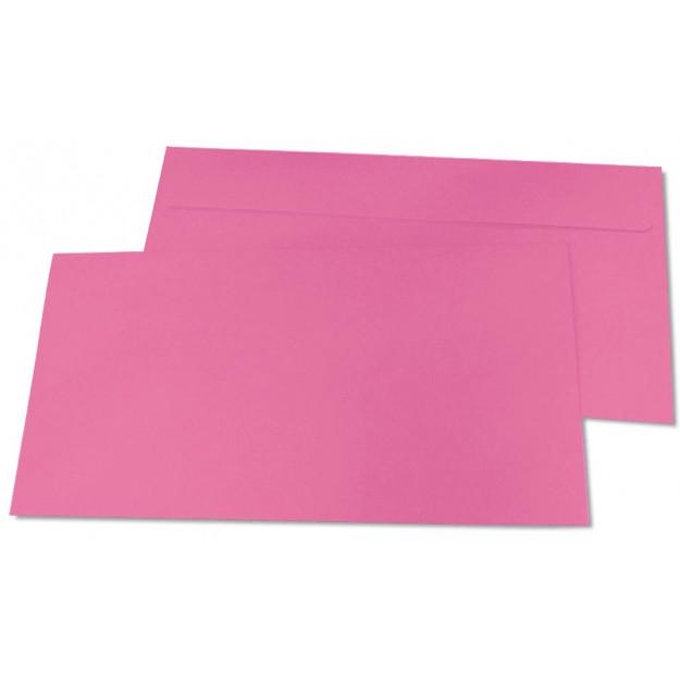 Briefumschläge, DIN-lang - rosa