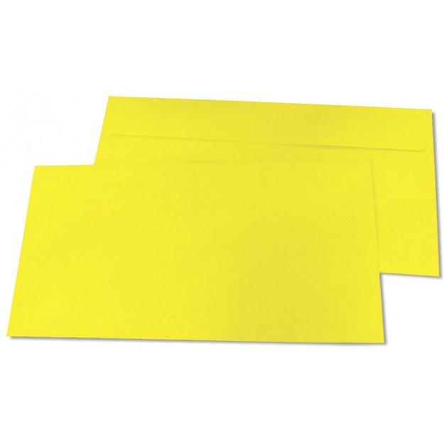 Briefumschläge, DIN-lang - gelb