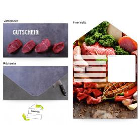 Gutschein Metzgerei - Fleisch