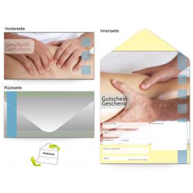 Gutschein Massage & Wellness - Bein und Fußmassage