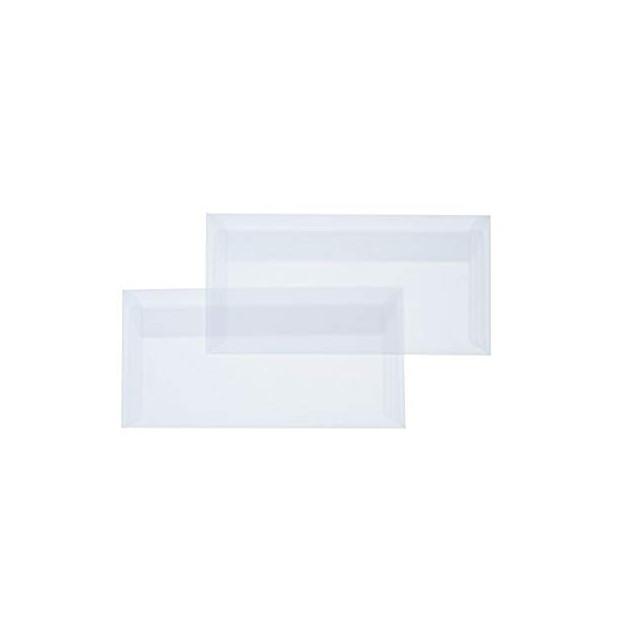 Briefumschläge, DIN-lang - Transparent