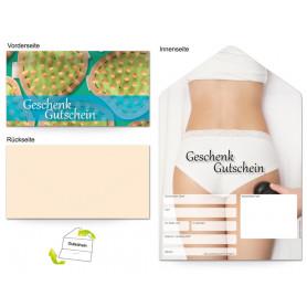 Gutschein Kosmetik - Antifalten Cellulite Frau