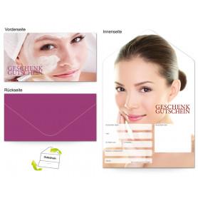 Gutschein Kosmetik - Gesichtsbehandlung Frau