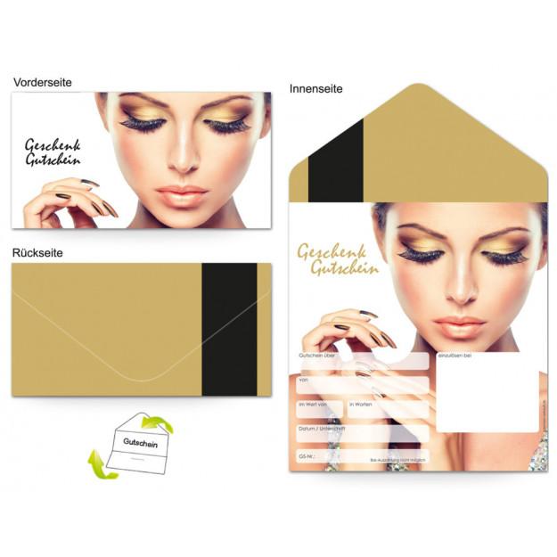 Gutschein Kosmetik - Make-up Frau
