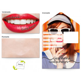 Gutschein Kosmetik - Make-up stylisch