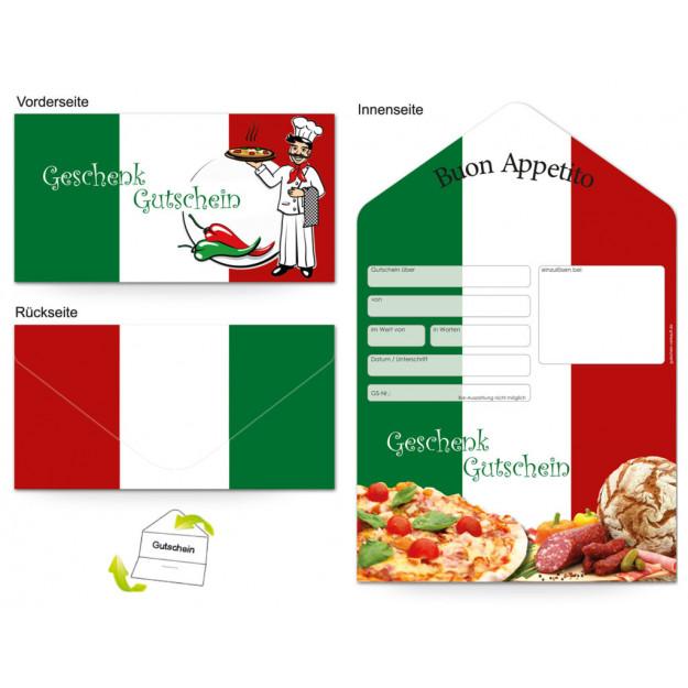 Gutschein Gastronomie - Pizza Italia
