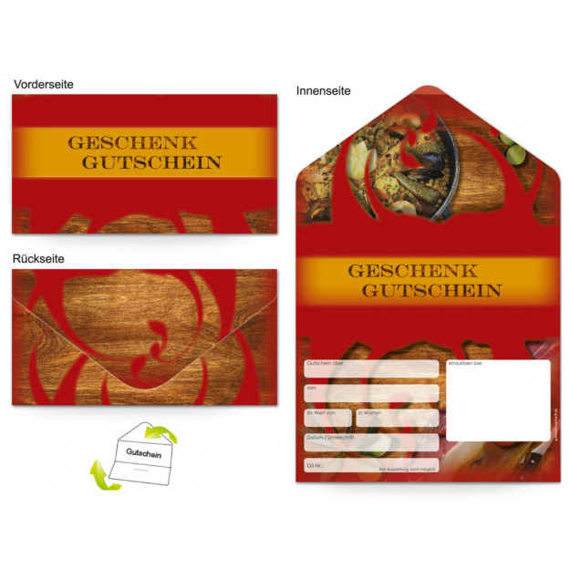 Gutschein Gastronomie - Spanier