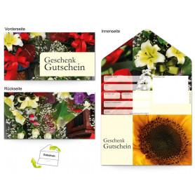 Gutschein Floristik - Blumenhandel Blütenpracht